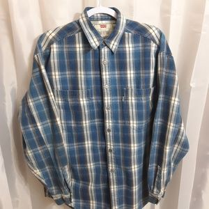 Levi's Long Sleeve Button Up Flannel Shirt